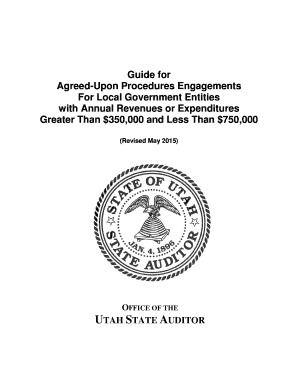 Guide for Agreed-Upon Procedures Engagements For Local