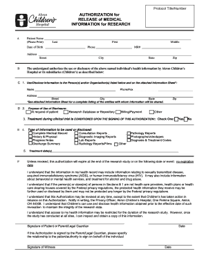 Hospital Discharge Summary Template