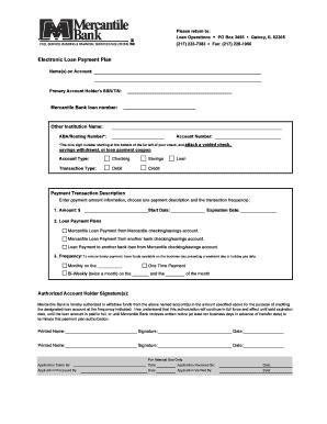 Electronic Loan Payment Plan 6-08 - mercantilebkcom