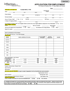 application for employment california template - editable employment separation agreement template