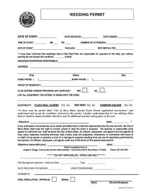 wedding vendor contract template