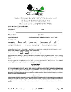 Printable Banquet Hall Rental Agreement Form Edit Fill