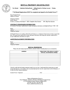 registration receipt template