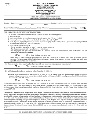 new nj real estate sales contract - Edit Online, Fill Out ...