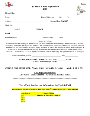 track and field templates free edit fill out online templates