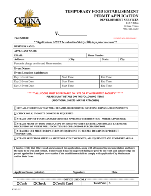 Fillable Online celina-tx BUILDING PERMIT APPLICATION - celina-txgov on electrical risk assessment form, birth certificate application form, work permit form,