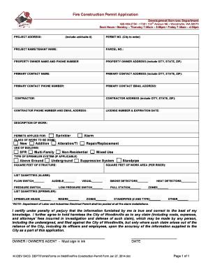 construction work order format doc