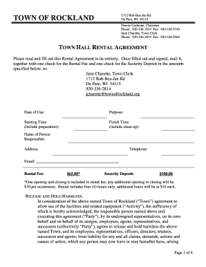 How To Fill Out Rental Agreement Fill Out Online Download