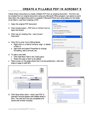 Fillable create fillable pdf forms from word Forms and Document