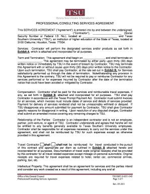 PROFESSIONALCONSULTING SERVICES AGREEMENT