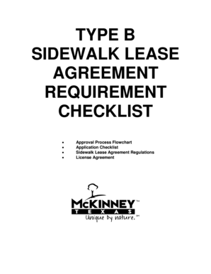 Rent and lease template nova scotia lease agreement forms fillable type b sidewalk lease agreement requirement checklist approval process flowchart application checklist sidewalk lease agreement regulations platinumwayz