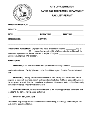 Printable Washington State Rental Agreement Laws Fill Out