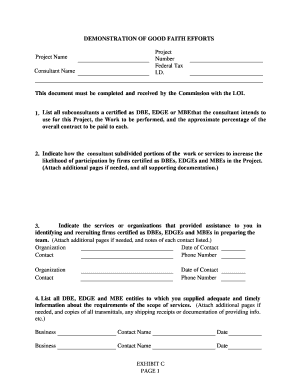 Printable Letter interest to participate in a project - Edit, Fill