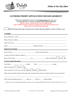 Fillable catering service agreement - Edit Online & Download Best ...