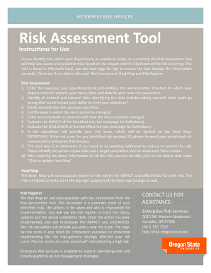 Will Help You Ess And Prioritize Risks Based On The Impact Likelihood Of Heat Map Template Excel