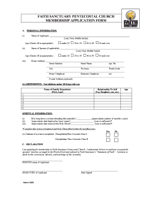 Submit pentecostal church membership form online samples in pdf faith sanctuary pentecostal church membership bapplicationb form thecheapjerseys Choice Image