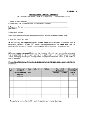 21 Printable declaration of business ownership Forms and Templates