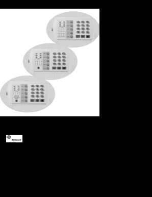 fillable online networx nx 6v2 digital alarm fax email print rh pdffiller com ge networx nx-6v2 manual ge networx nx-6v2 user manual
