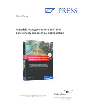 Materials Management with SAP ERP Materials Management with SAP ERP