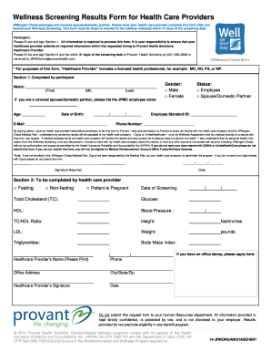 United Healthcare Wellness Screening Form - Fill Online, Printable ...