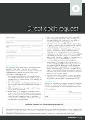 macquarie bank change of account details form