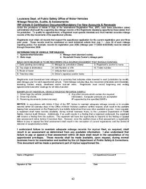 File louisiana irp online form - web01 dps louisiana