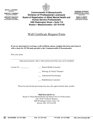 professional certificate format