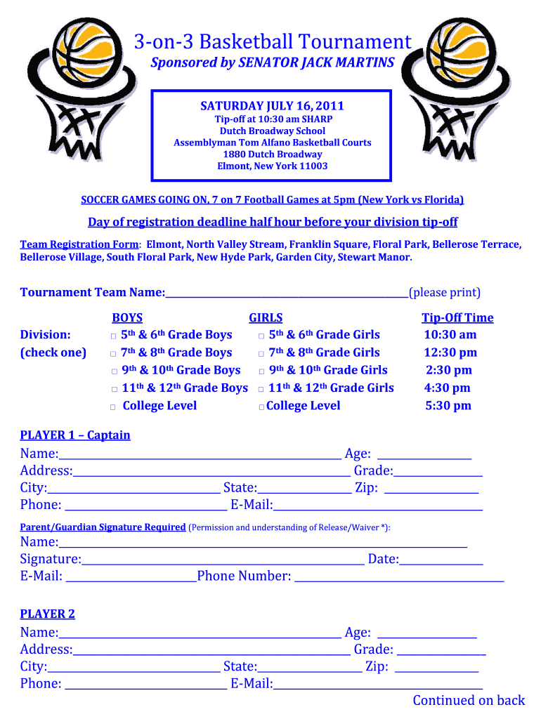 Basketball Waiver Form Template Fill Online Printable