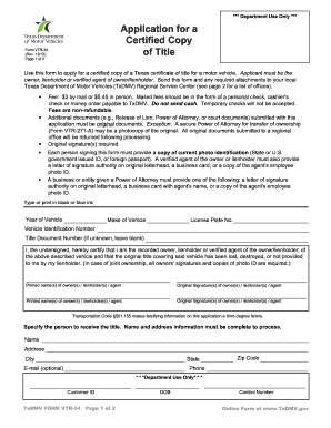 Form vtr 271 fill online printable fillable blank for Department of motor vehicle forms