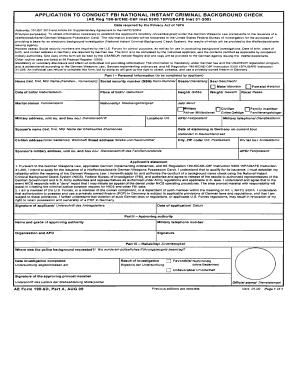 national police check application form pdf