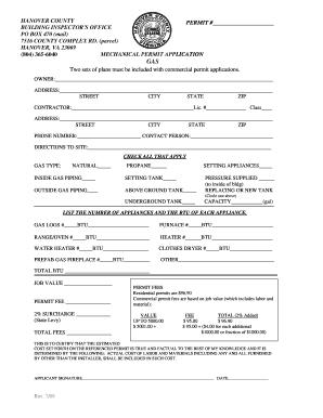 Hanover County Building Permit Search