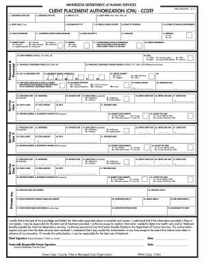 Fillable Online hennepin DHS-2780-3 (8-5-11) GJF. This form is for ...