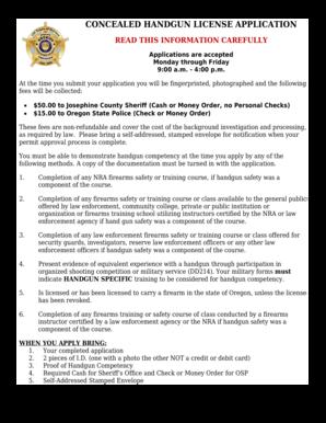 handgun license online