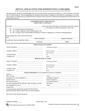 11 Printable Standard Lease Agreement Pa Forms And Templates