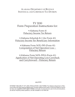 alabama tax forms - Fillable & Printable Samples & Templates