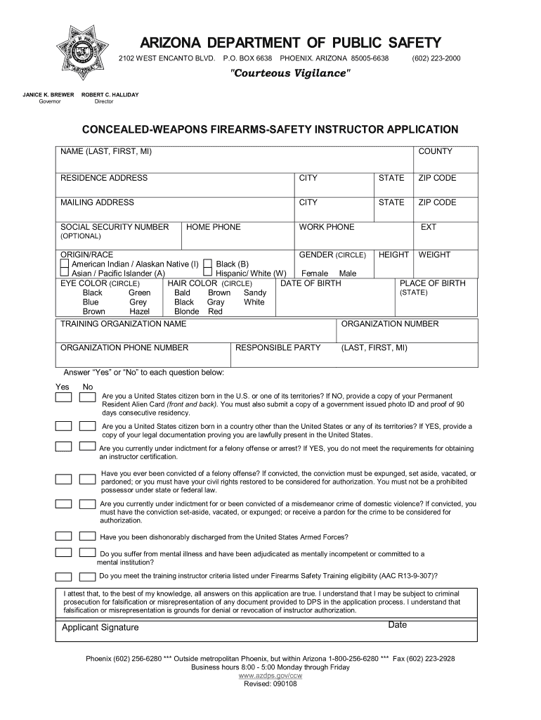 large Oklahoma Concealed Carry Application Form To Print Out on