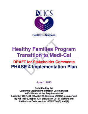 Phase 4 implementation plan - Department of Health Care Services