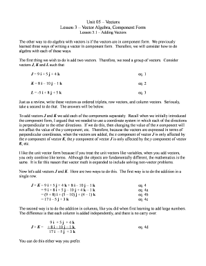 Pdf Fills Of Vector Algebra Fill Online Printable Fillable Blank Pdffiller Variables and verify that they are min/max as needed. pdffiller