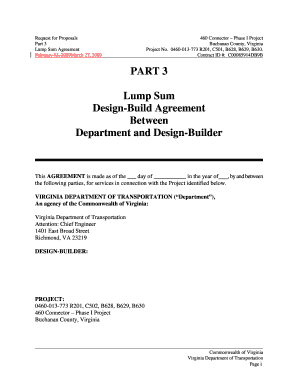Phase Template Forms Fillable Printable Samples For PDF Word - Lump sum contract template