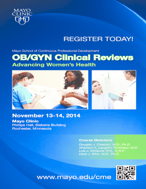 CPD broch OB/GYN - MC8000-39 - Mayo Clinic Fill Online