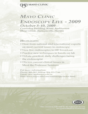 mayo clinic volunteer jacksonville fl - Fillable & Printable