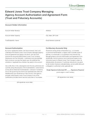 Trust Certification Form Edward Jones - Fill Online, Printable ...