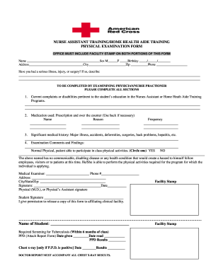 Clinical Examination Form - Fill Online, Printable, Fillable ...