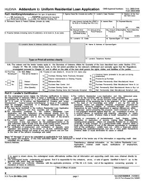 Hud form 92561