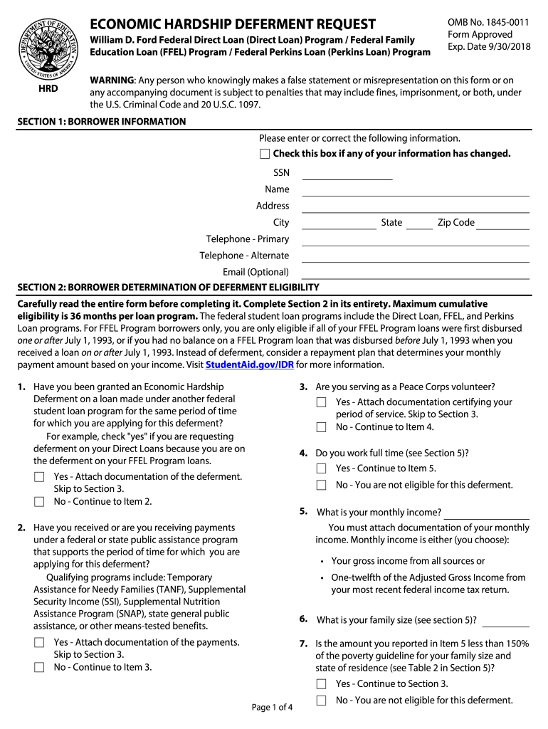 2018 Form ED HRD Fill Online, Printable, Fillable, Blank