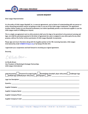 baseball donation request letter to Download in Word & PDF