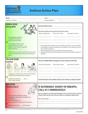 Asthma Handout - Asthma Lung Disease