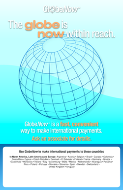 Fillable Online frbservices The globe is now within reach