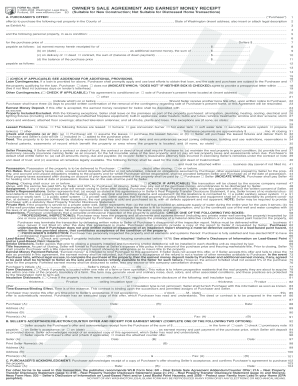 purchase and sale agreement template washington state  15 Printable purchase and sale agreement washington state Forms and ...