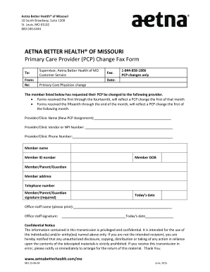 Aetna forms for providers - Edit Online, Fill Out & Download